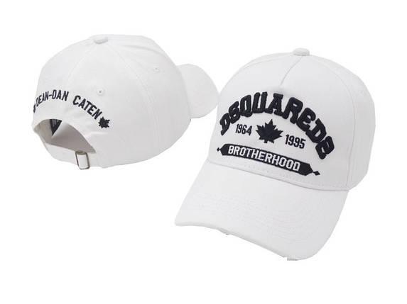 Кепка Dsquared2 White Black Бейсболка Белая, фото 2