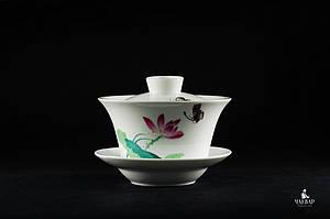 """Гайвань """"Весенняя бабочка"""" для чайной церемонии Гунфу, 150мл"""