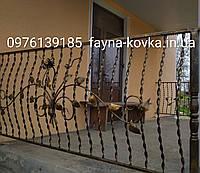 Перила недорогие кованые 123, фото 1