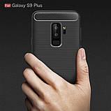 Чехол PRIMO Carbon Fiber Series для Samsung S9 Plus (SM-G965) - Black, фото 2
