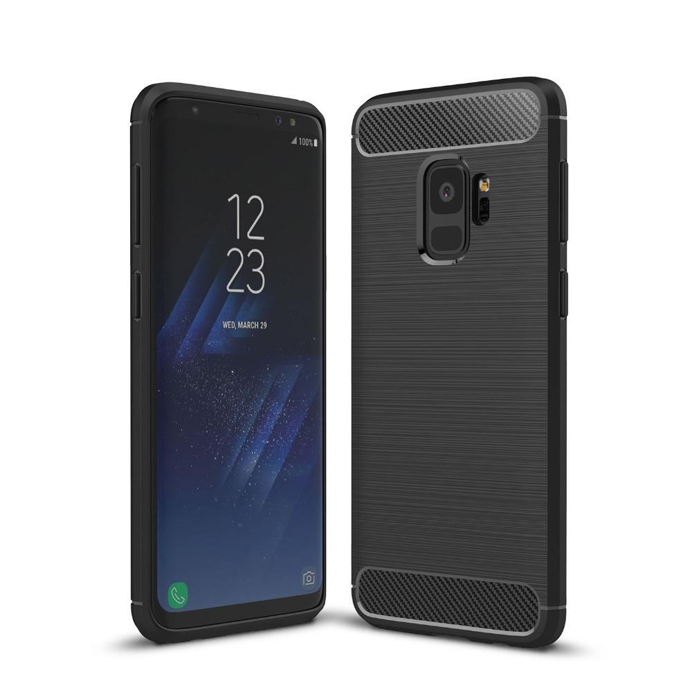Чехол PRIMO Carbon Fiber Series для Samsung S9 Plus (SM-G965) - Black