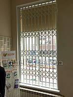 Раздвижная решетка на дверь Шир.1200*Выс2610мм для дома