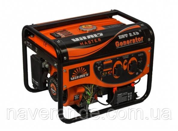 Генератор бензиновый «Vitals Master» EST 2.5b