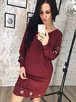 Платье с люверсами в расцветках 33232, фото 1