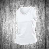 Майка женская белая Stedman - White СТ2900