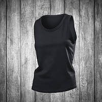 Майка женская черная Stedman - Black Opal СТ2900