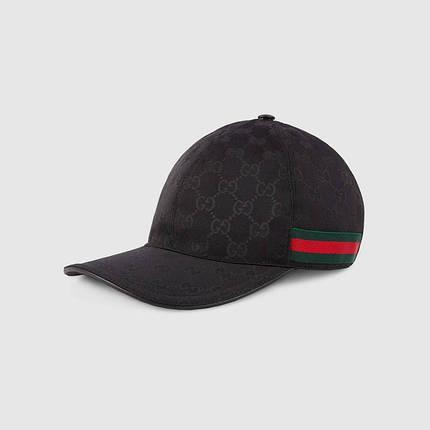 Кепка GUCCI Green/Black/Red бейсболка черная гуччи, фото 2