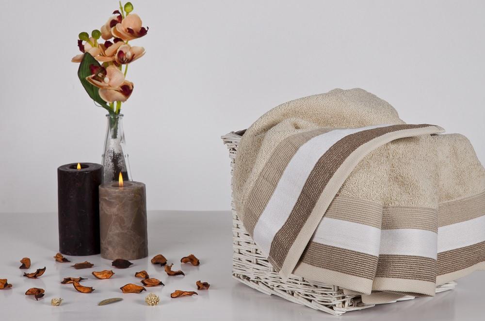 Мягкое хлопковое полотенце 30x50 см Сиера
