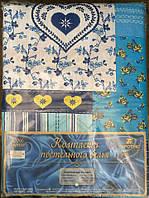 Полуторное постельное белье Тиротекс - цветочки