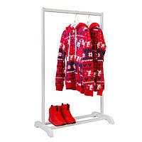 """Вешалка гардеробная для одежды и обуви """"Визит-1"""""""