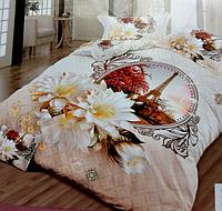 5D Двуспальное постельное белье LISHA Франция