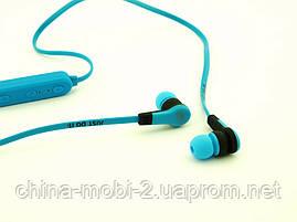 NIKE MS-B4 реплика, bluetooth наушники беспроводная гарнитура, синие, фото 3