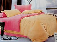 Двуспальное постельное белье East Comfort бежево-розовый окрас