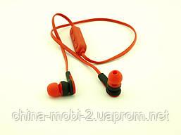 NIKE MS-B4 реплика, bluetooth наушники беспроводная гарнитура, красные, фото 3