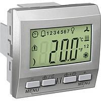 Терморегулятор KNX панель Алюминий Unica Schneider, MGU3.534.30