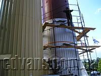Изоляция акратофоров для винодельческой промышленности пенополиуретаном