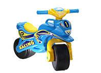 Мотоцикл для катания, Мотобайк Спорт голубой, Украина 0138