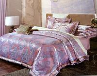 Жаккардовое двуспальное постельное белье JIYIZHIZAO абстракция