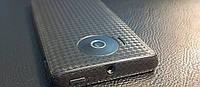 Декоративная защитная пленка для Huawei Ascend Y300 карбон кубик черный