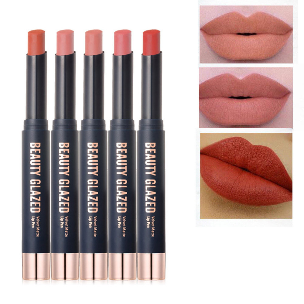 Помада- карандаш Beauty glazed velvet matte lip pen