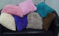 Ворсиста подушка 50х50 см - різні кольори