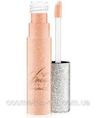 Блеск для губ матовый MAC Mariah Carey Collection (серебро) (реплика)