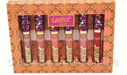 Жидкая помада TARTE Tarteist Lip Paint (Матовая) - набор (реплика)