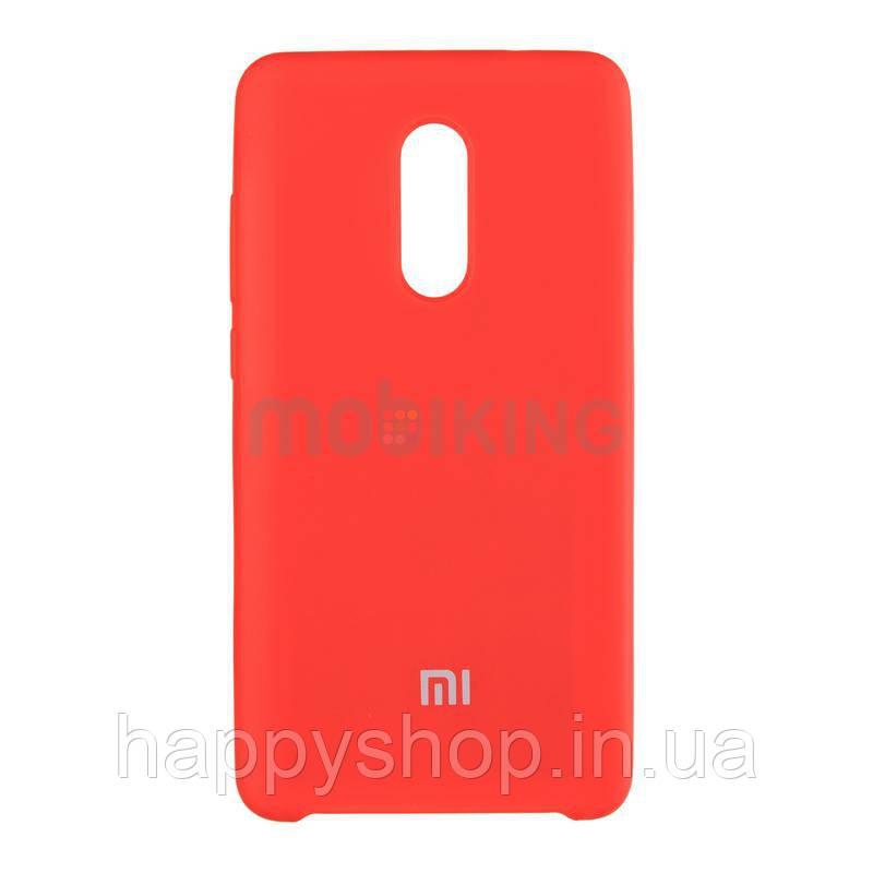 Оригинальный чехол Soft touch для Xiaomi Redmi 4x (Red)