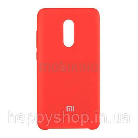 Оригинальный чехол Soft touch для Xiaomi Redmi 4x (Red), фото 2