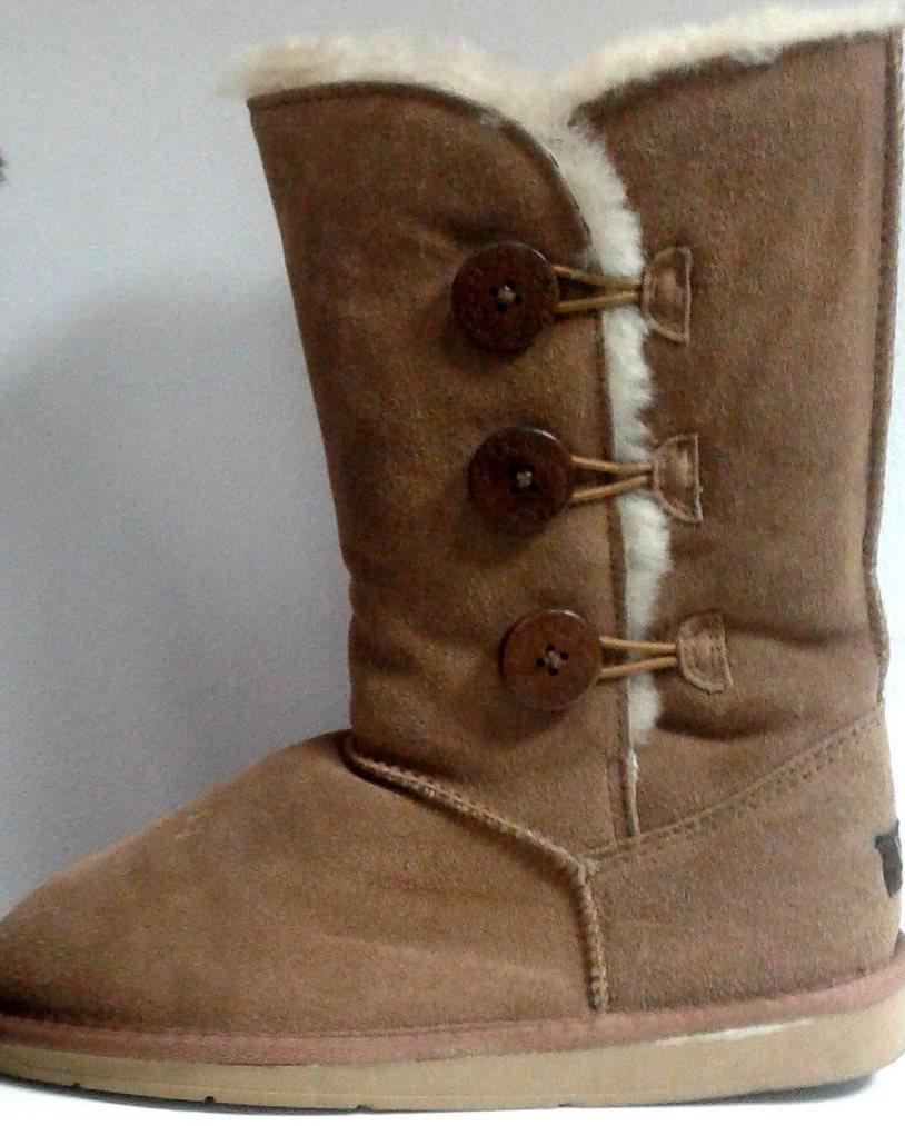 Угги высокие (светло-коричневые) / women's boots / yz1_1
