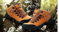 Женские зимние ботинки Merrto orange