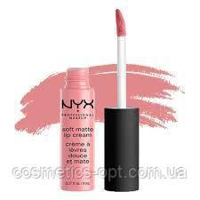 Матовая помада-крем NYX Soft Matte Lip Cream (реплика)
