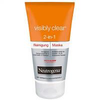 Neutrogena Visibly Clear 2in1 Reinigung & Maske - Гель для умывания + маска для лица
