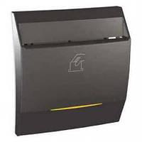 Выключатель карточный с подсв. и выдержкой времени Графит Unica Schneider, MGU3.540.12
