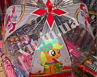 Детский зонт с силиконовым куполом, фото 1