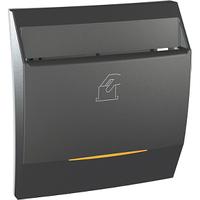 Выключатель карточный с подсв. и выдержкой времени Графит Unica Class Schneider, MGU3.540.12CS