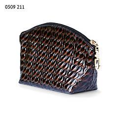 Косметичка 0509-2 с внутренним карманчиком, размер 20*11*6 см