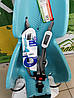 BELLELLI Lotus Standard B-fix Дитяче велосипедне крісло SAD-35-71 Sky blue до 22кг, фото 2