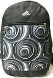 Дешевые рюкзаки спорт стиль Nike текстиль (черный)26*37, фото 3