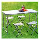 Туристический стол со стульями White, фото 2