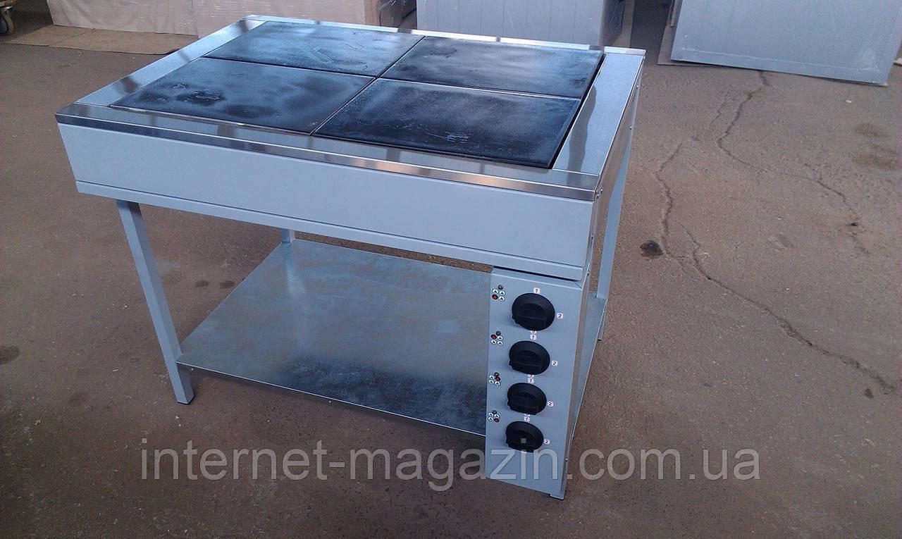 Плита электрическая промышленная ЭПК-4м стандарт Эфес