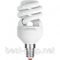 Е14_9W_2700К - Серия XPiral. Энергосберегающие лампы Maxus (Максус)
