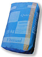 Кварцевый песок в мешках (фракция 0,8-1,2мм) для фильтрующих установок бассейнов