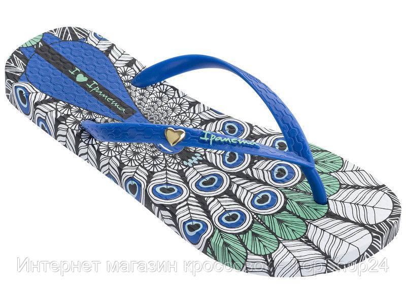 82366-23677 Вьетнамки женские Ipanema Summer Black/Blue