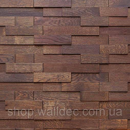 Деревянная панель 3D THERMO WOOD Brick Brushed