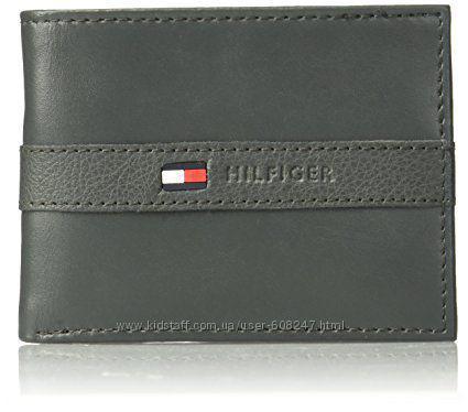 c0cf9f0f125f Кожаный Кошелек Tommy Hilfiger Фирменный Бумажник Оригинал Из США ...