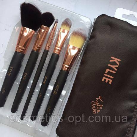 Кисти для макияжа Kylie (5 предметов) (реплика)