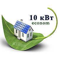 """Мережева сонячна електростанція 10 кВт """"econom"""" під """"ключ"""""""