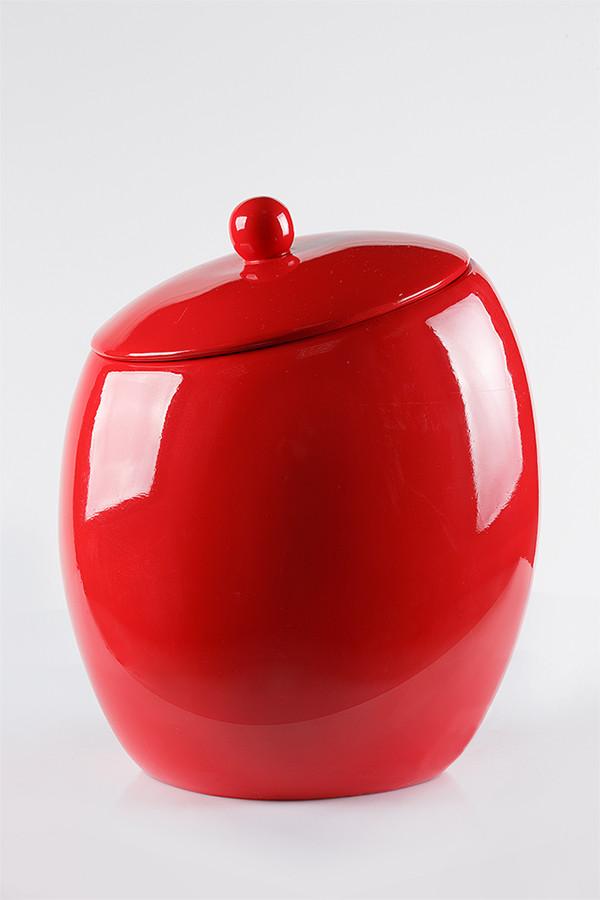 Ведро для мусора, серия Нора цвет красный