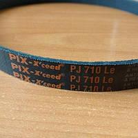 Ремень ручейковый 7PJ 710 Rix для бетономешалки, фото 1